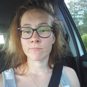 Kolmen lapsen yksinhuoltajaäiti Anselica Nieminen, 26, Turenki