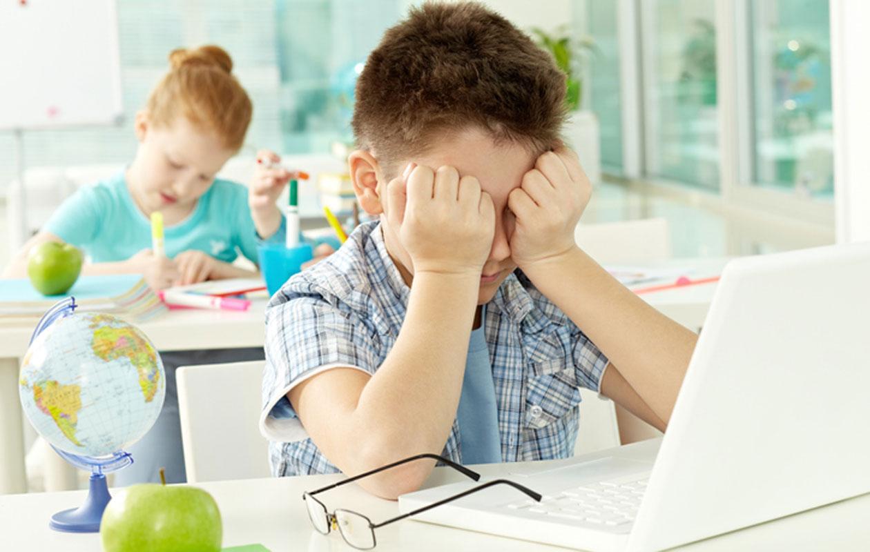 Lapsella vaikeuksia koulussa