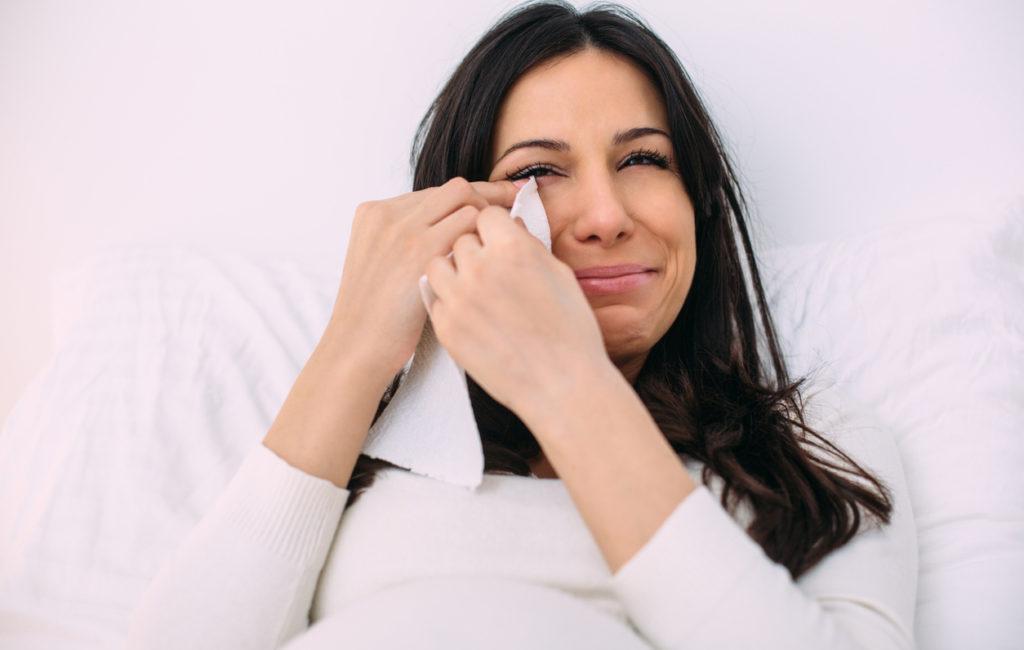 Miksi raskaana itkettää?