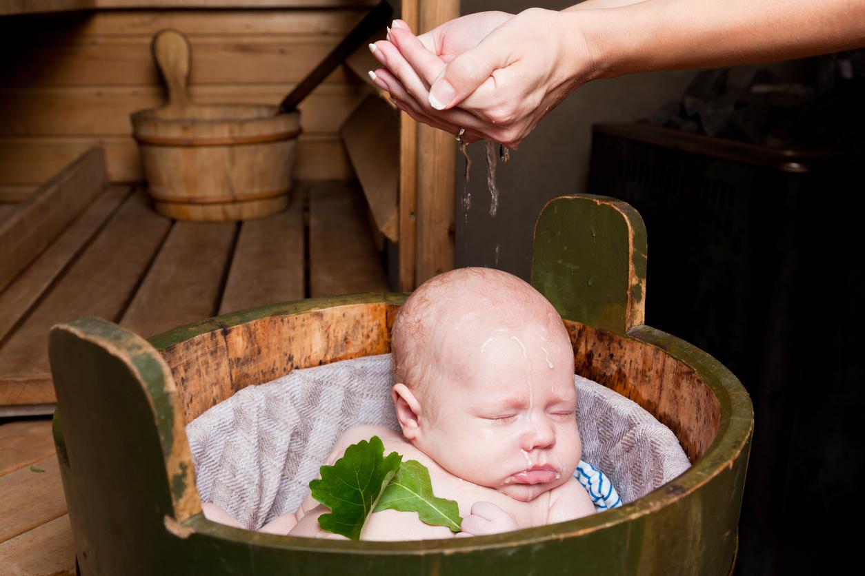 sauna ja vauva