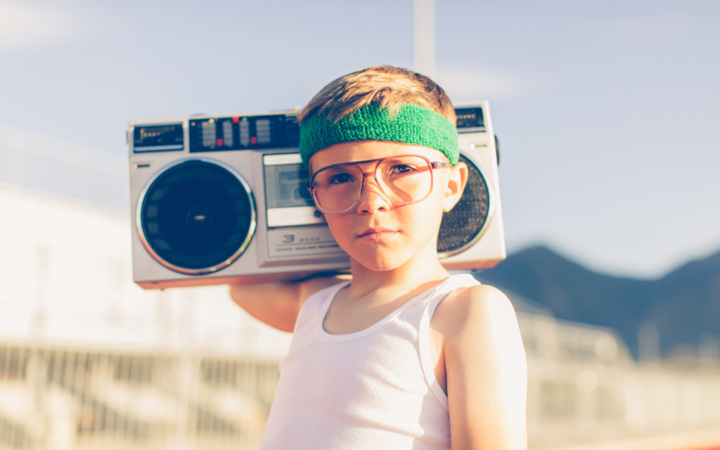 1980-luvulla musiikkia pystyi kuuntelemaan kannettavasta mankasta.
