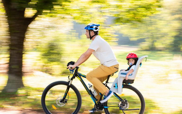 Lasten pyöränistuin kannattaa valita huolella