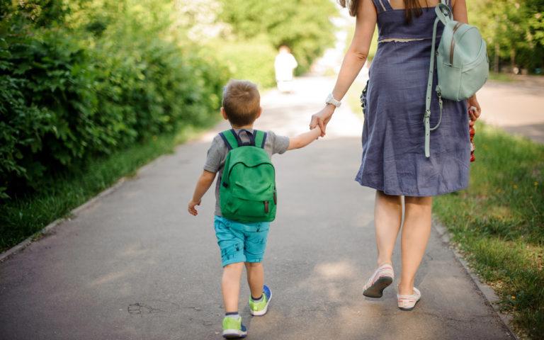Heidin ja hänen miehensä perheessä lapset ovat viikon verran päiväkodissa samaaan aikaan, kun vanhemmat ovat lomalla.