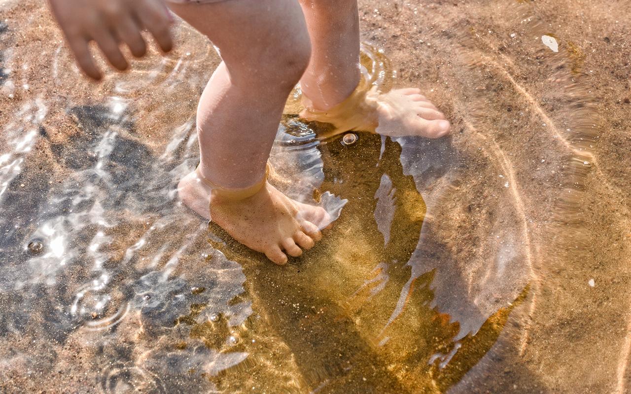 Hyvä uimataito pitää pinnalla