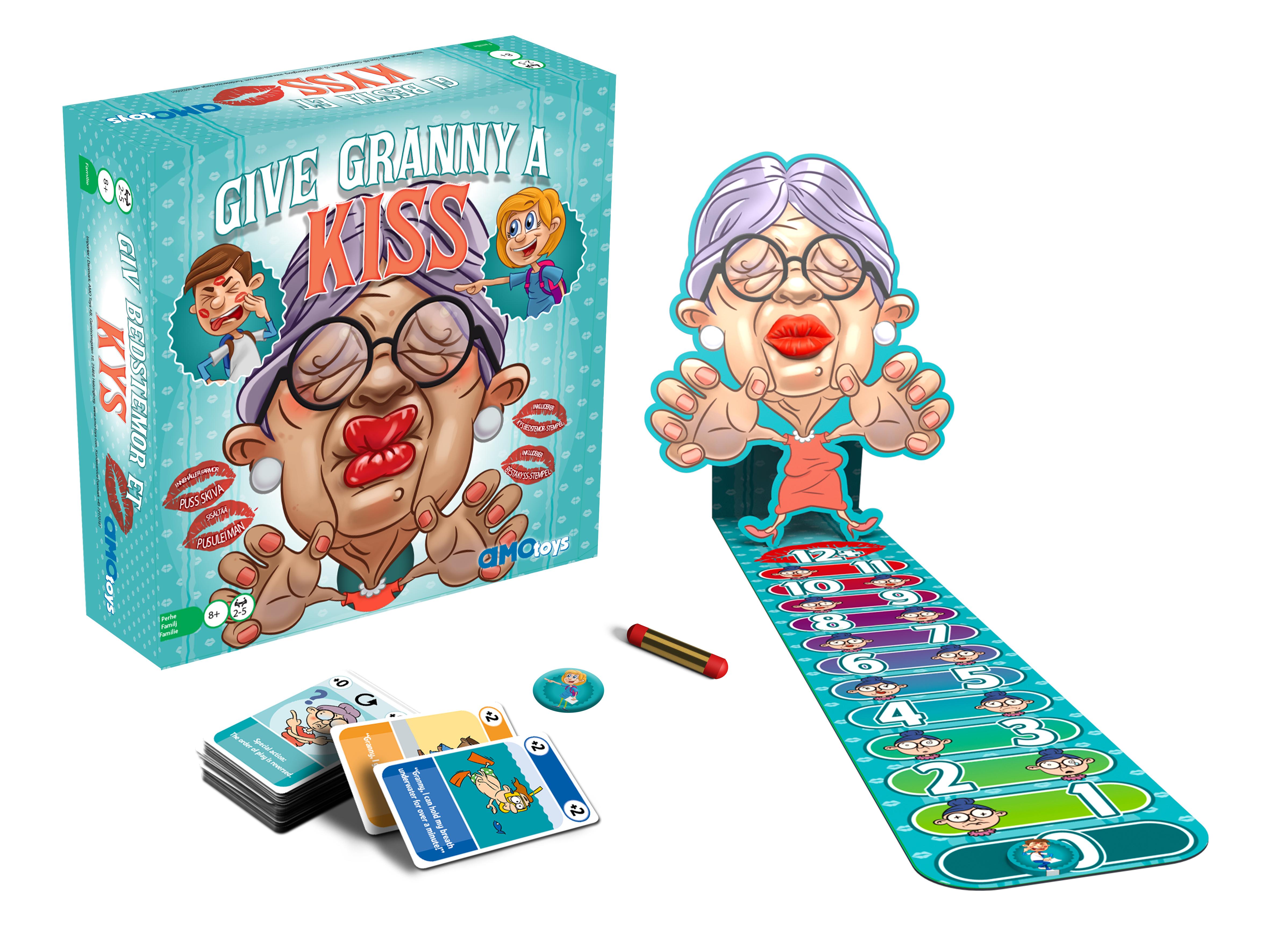 Give Granny A Kiss -lautapeli.