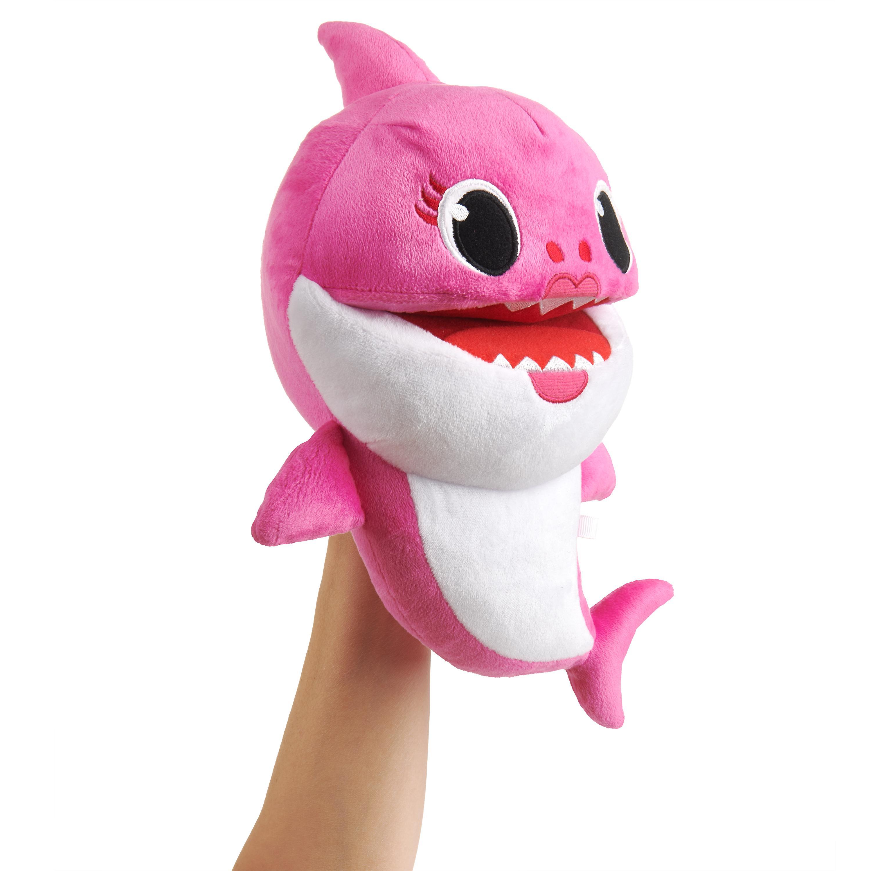 Baby Shark - laulava käsinukke.