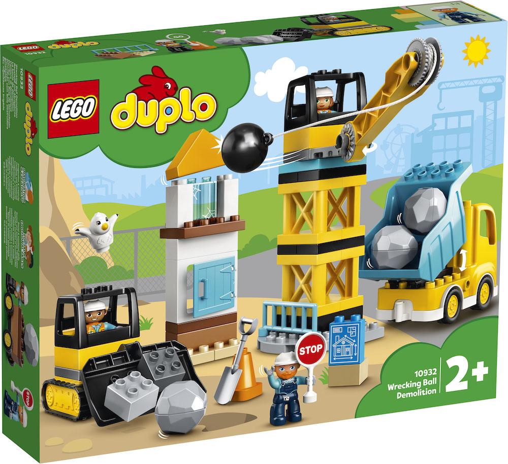 Lego Duplo -purkutyömaa.