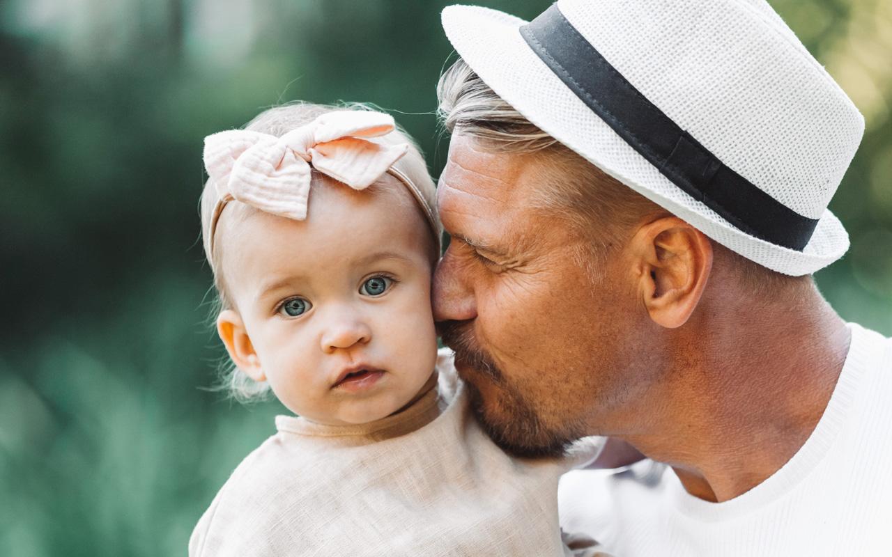 Enää Aki Manninen ei voisi kuvitella elämää ilman tytärtään.