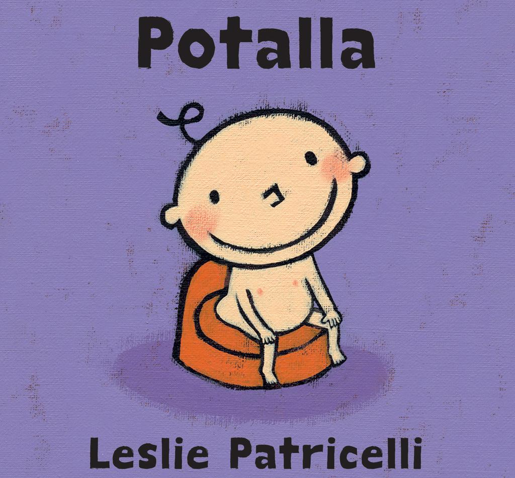 Potalla-kirja on humoristinen ja lempeä pottakirja.
