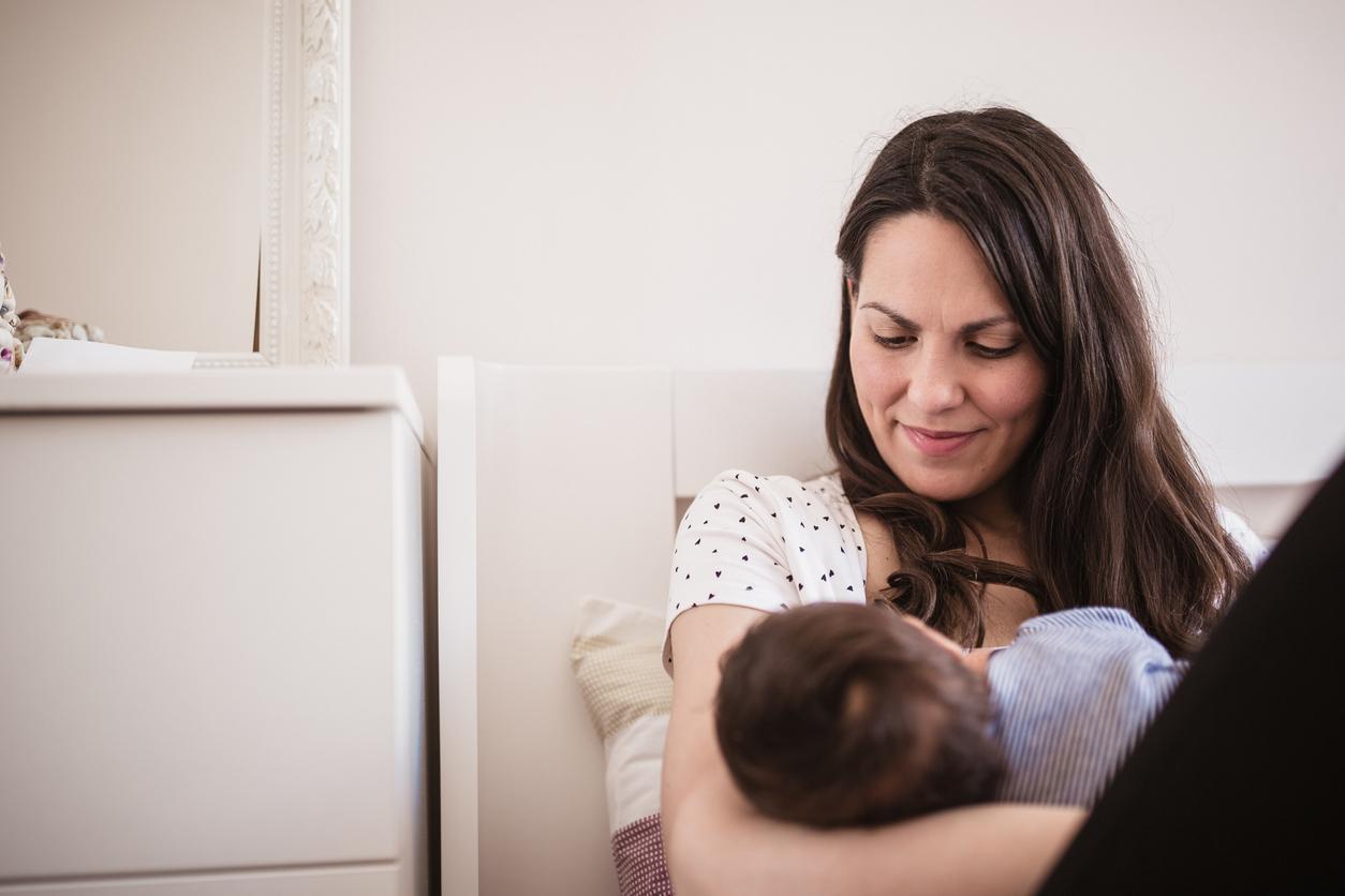 Synnytyksen kesto oli etukäteen äidin suuri stressin aihe. Kuvituskuva.