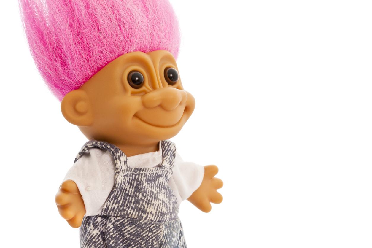 Trollit ovat luultua vanhempia leluja ja ensimmäiset tehtiin jo 1960-luvulla.