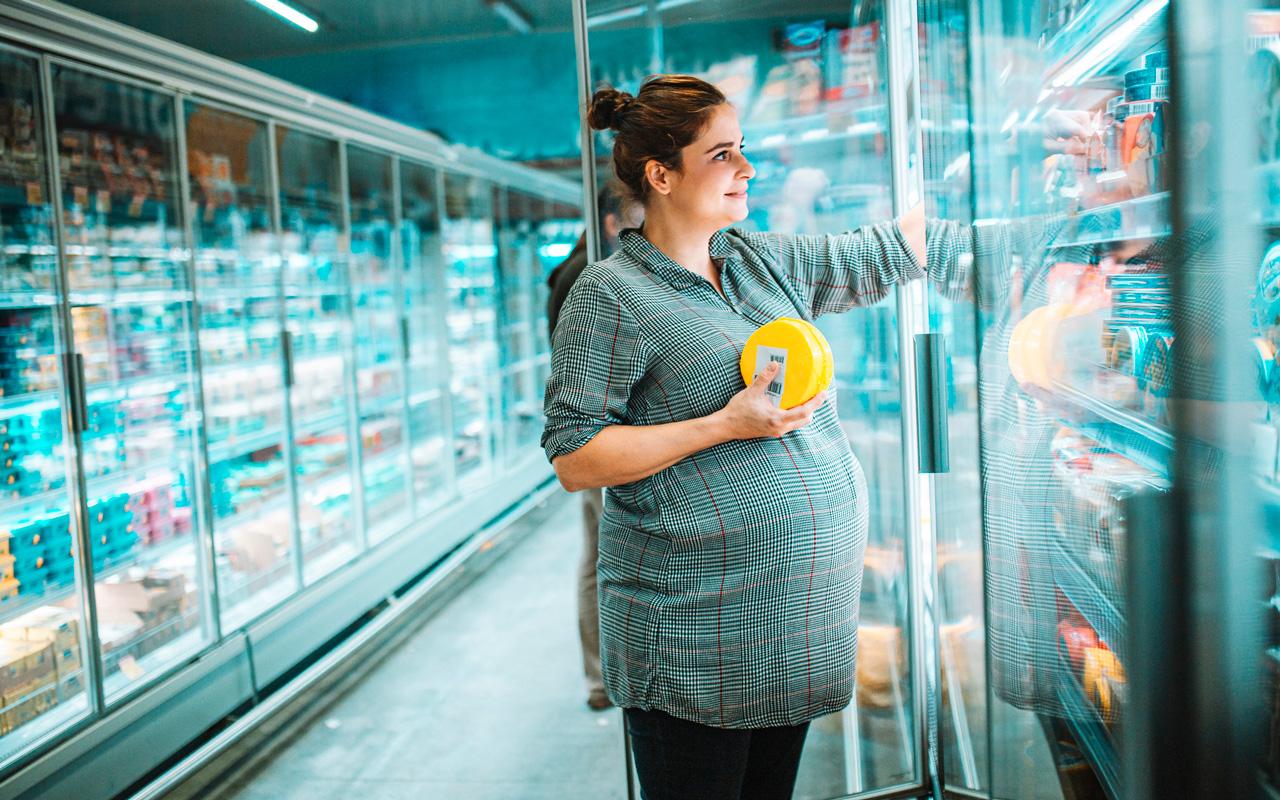 Monia leivän päälle laitettavia juustoja, kuten Oltermannia tai Edamia, voi syödä raskausaikana.