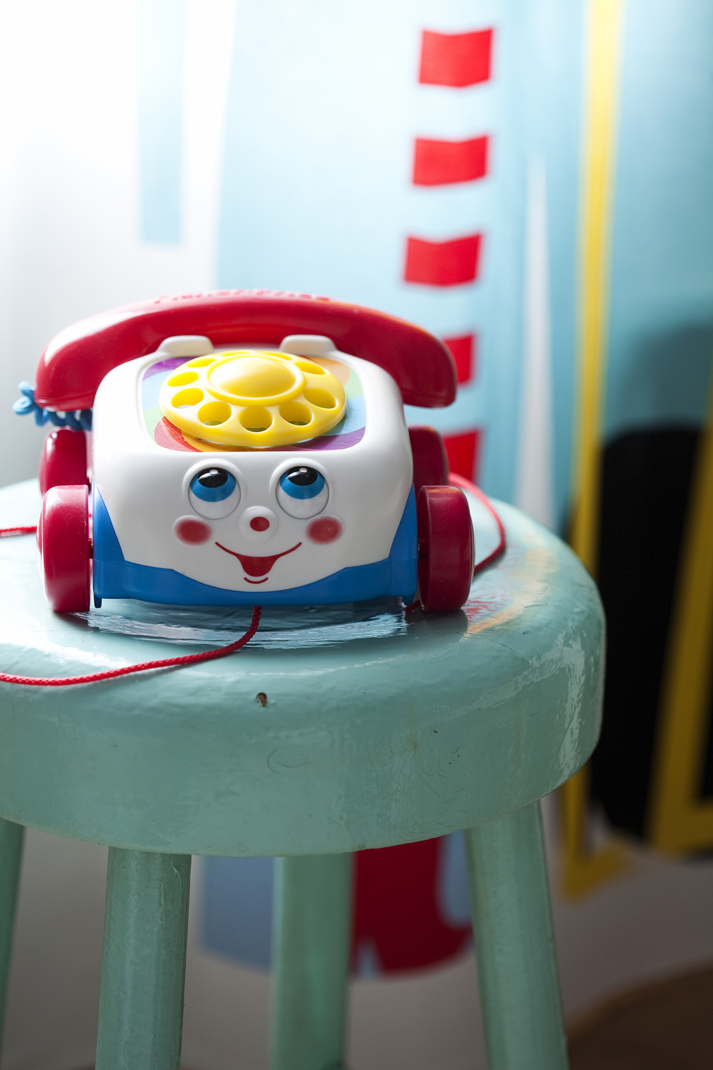 Vanhet lelut puhelin