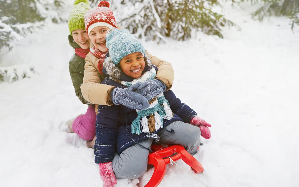 Ulkosynttärit voi järjestää myös talvella.