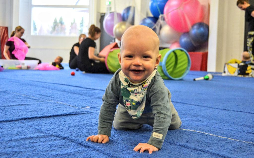 Vauvasirkus sopii yli 4 kuukauden ikäisille vauvoille.