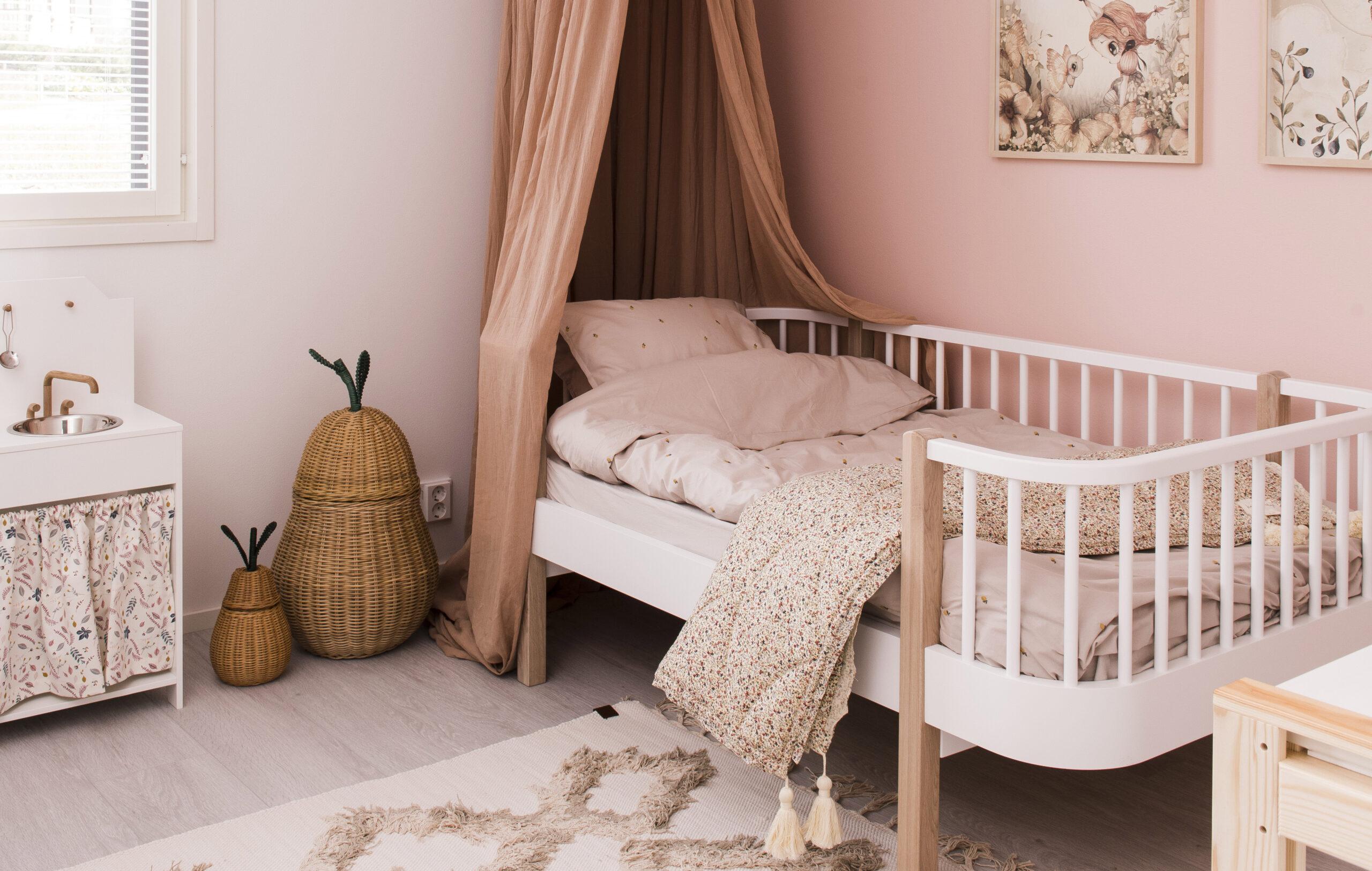 Lohjan asuntomessut: lastenhuoneen sisustus