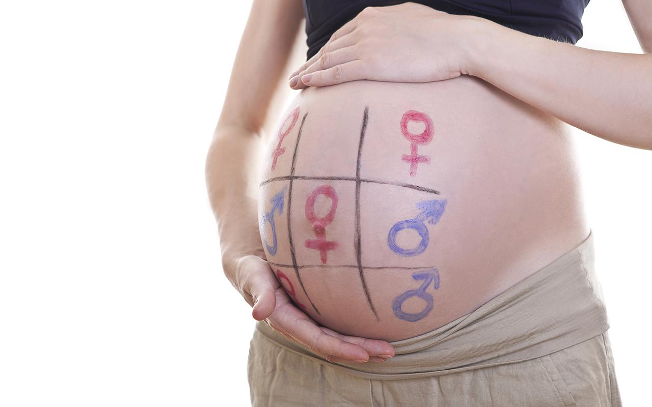 Hauskat raskausvatsat - ristinollaa sukupuolesta.