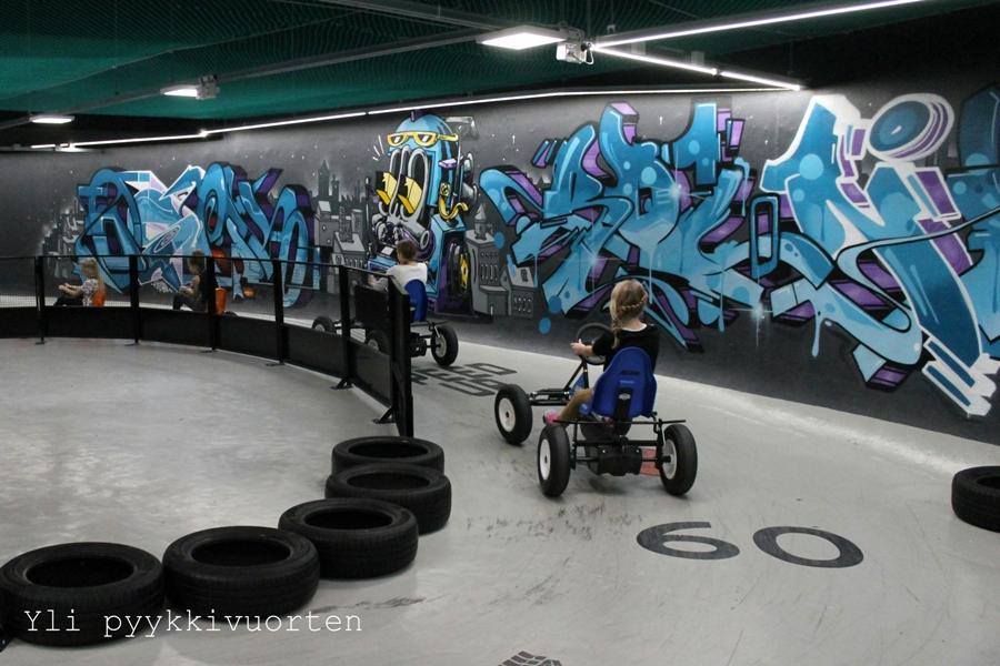 SuperPark Särkänniemi, sisäaktiviteettipuisto, Tampere, #sprprk